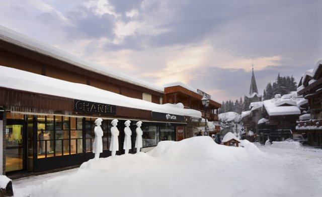 shopping Courchevel