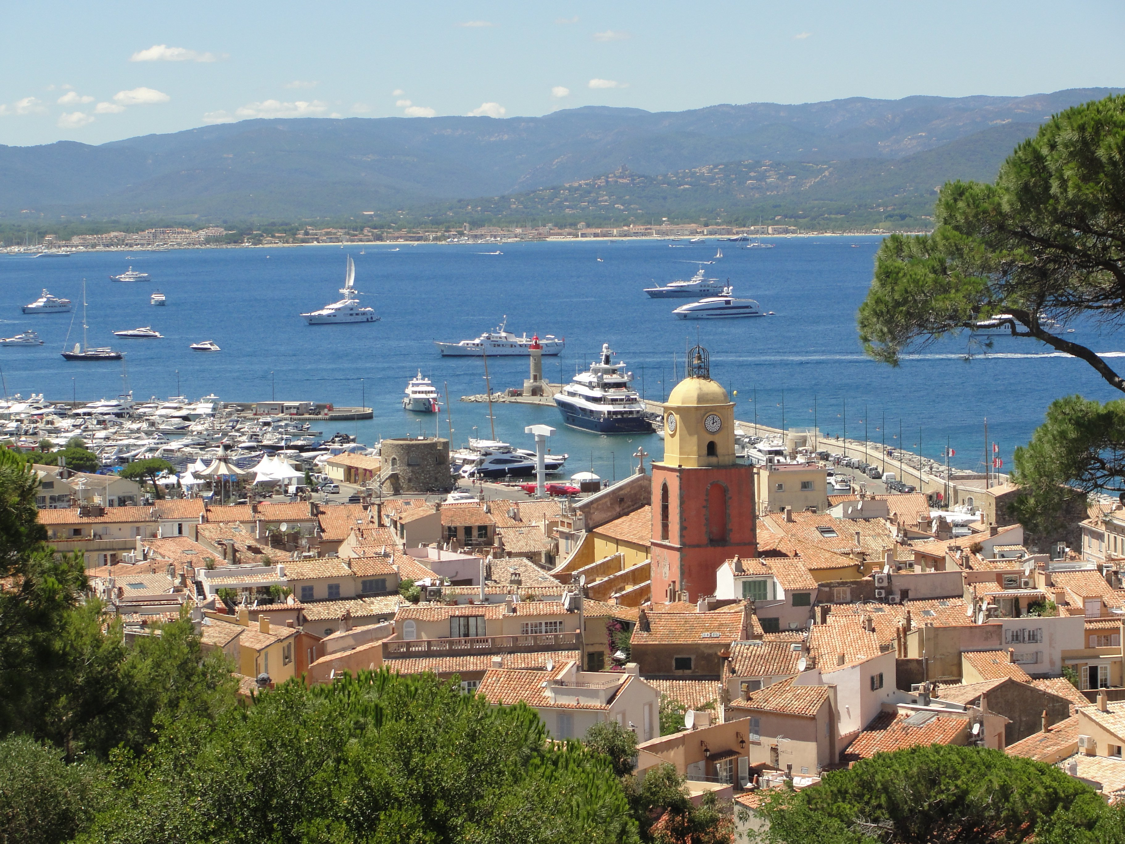 St Tropez helicopter transfer