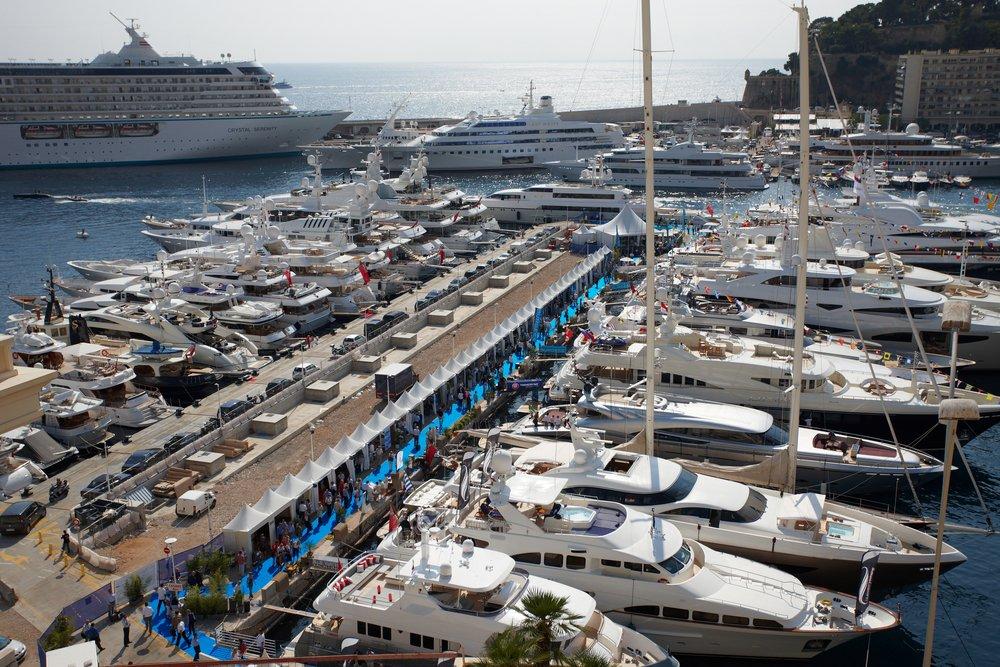 Monaco Yacht Show Helicopter transfer monaco