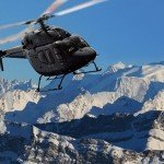 Arrive by Helicopter at the Courchevel Altiport