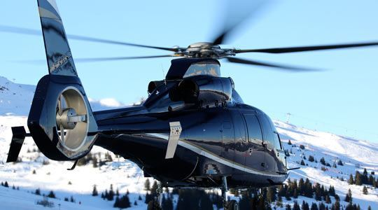 courchevel altiport heli securite