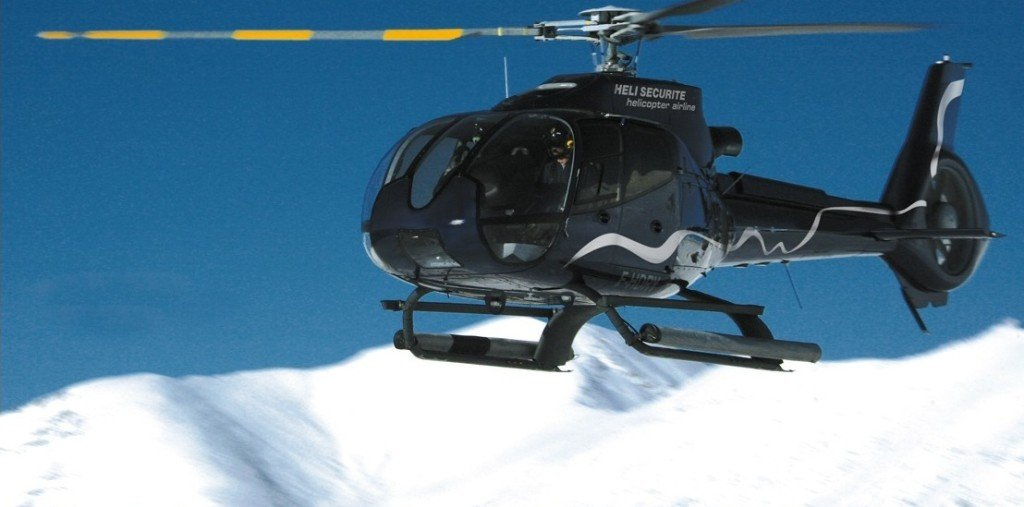 Snow report for landing spots