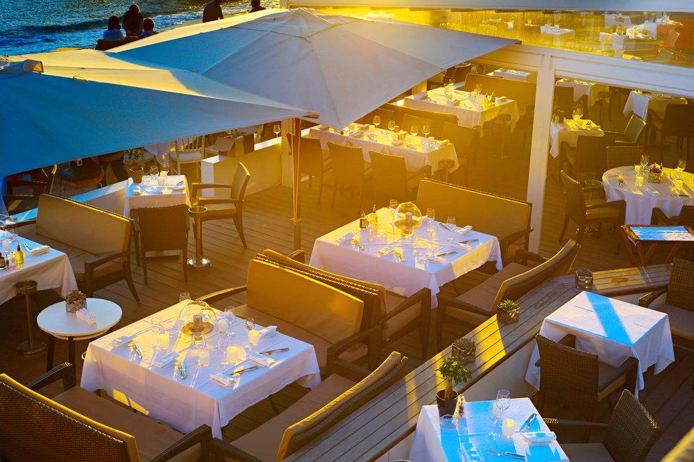 Cannes restaurant near the Palais